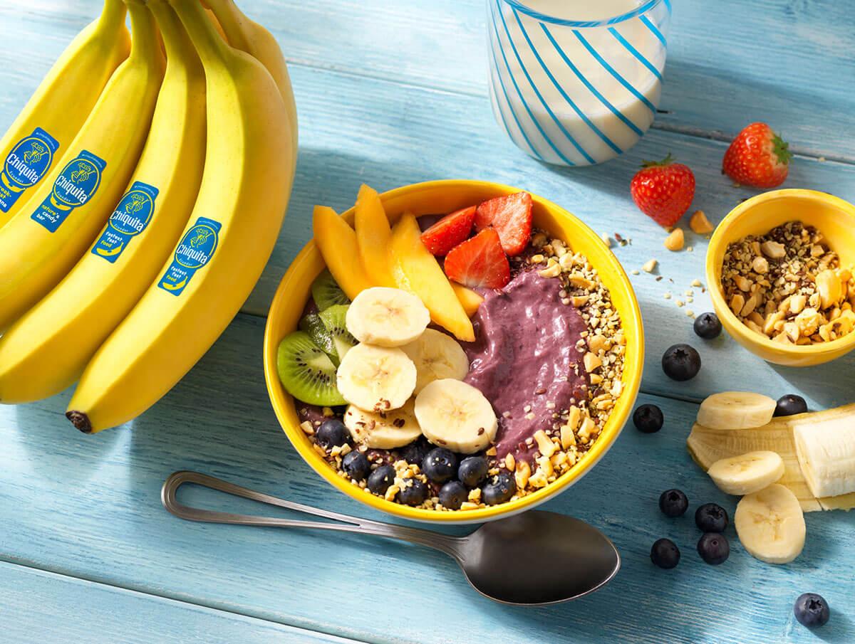Chiquita Banana Acai Yogurt Bowl