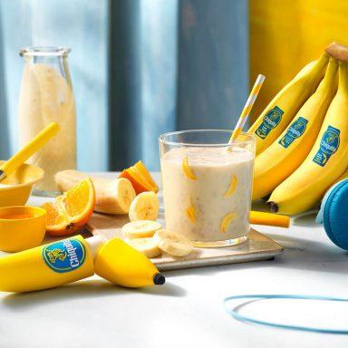 Chiquita Banana Smoothie with Orange and Honey
