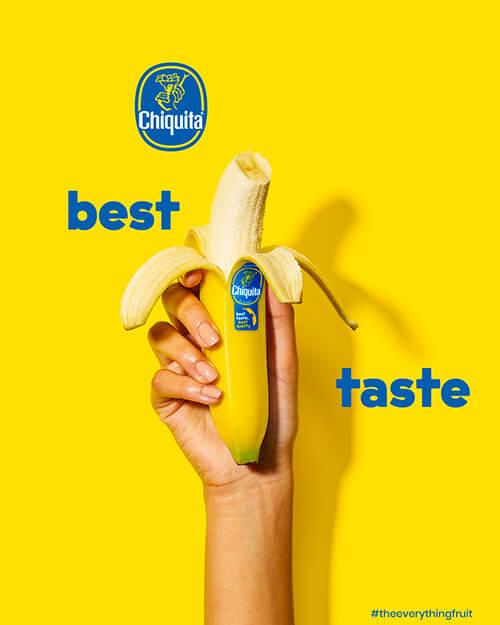 Best Taste Chiquita Bananas