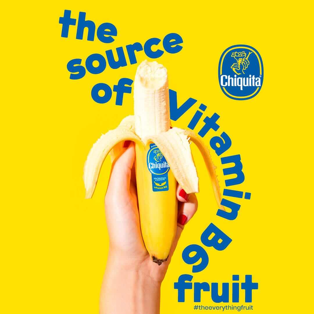The source of Vitamin B6 fruit Chiquita