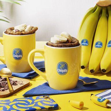 Chiquita Banana bread in a mug