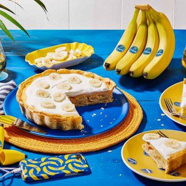 Chiquita Banana cream pie