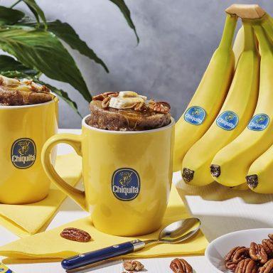 Chiquita Banana, pecan nut and maple syrup cake Mug