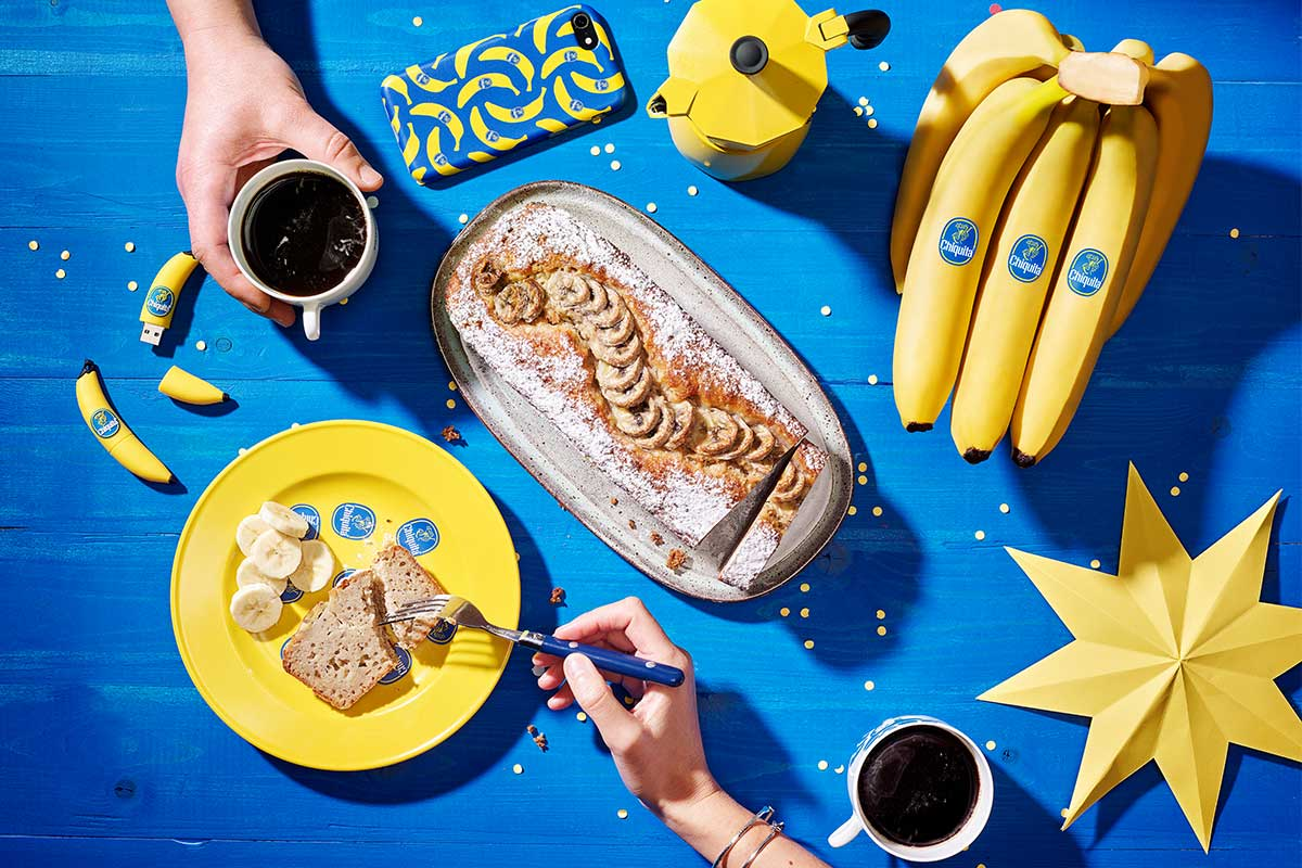 Quick and simple Chiquita banana bread