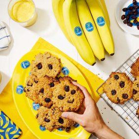 Banana breakfast cookies by Chiquita