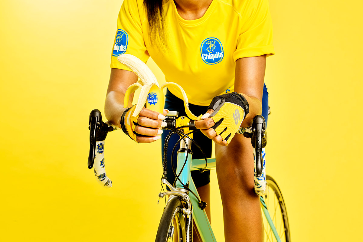 Benefits of bananas for cyclists