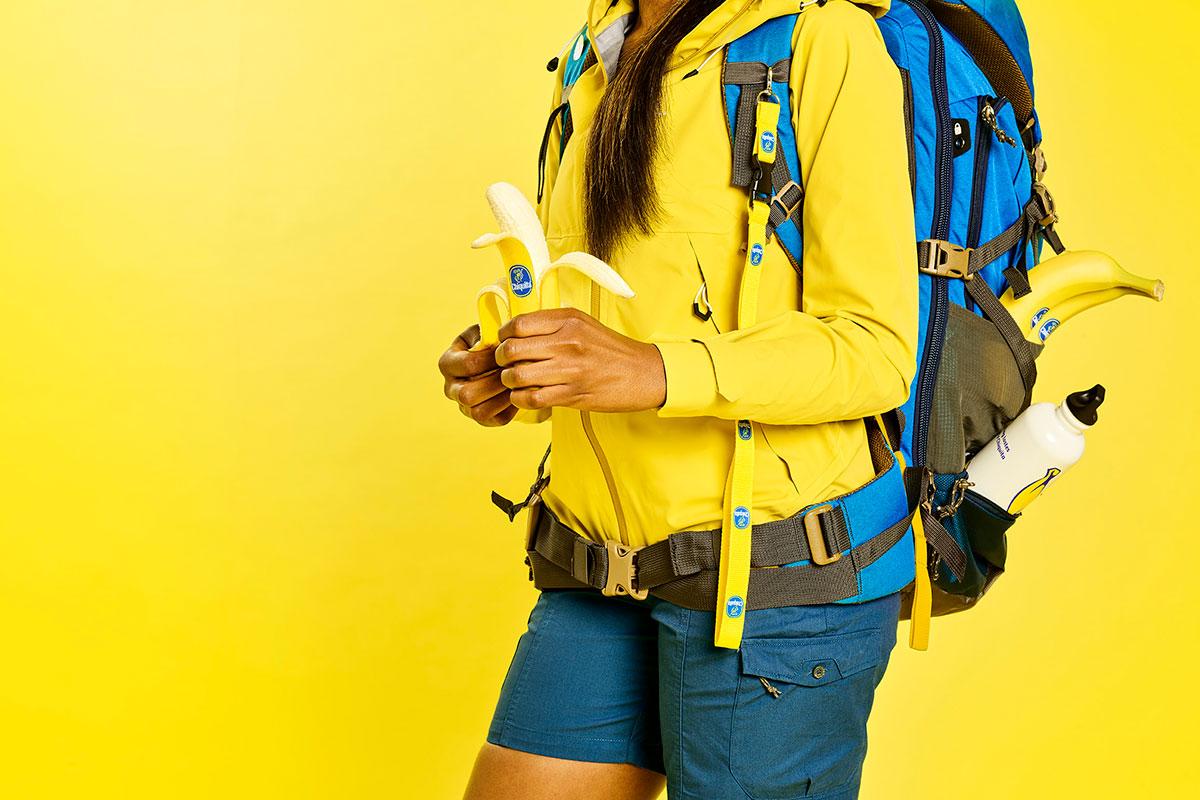 Benefits of bananas for hiking