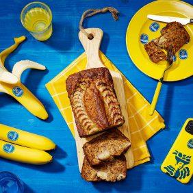 Easy vegan banana bread by Chiquita