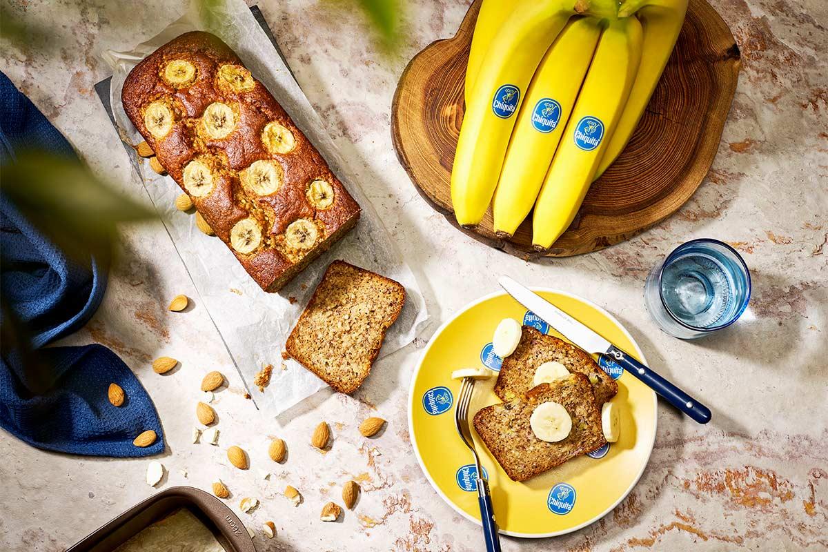 Paleo banana bread by Chiquita