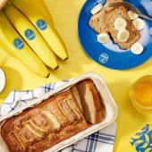 Wholegrain banana bread for Dash diet By Chiquita