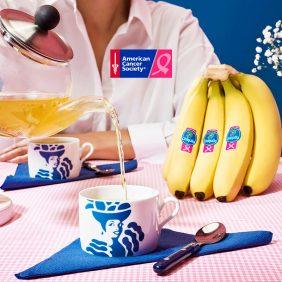 "Banana and chamomile tisane ""tea"" by Chiquita"