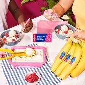 Cardamom banana frozen yogurt by Chiquita