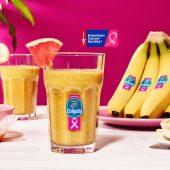 Grapefruit, ginger & Chiquita banana smoothie
