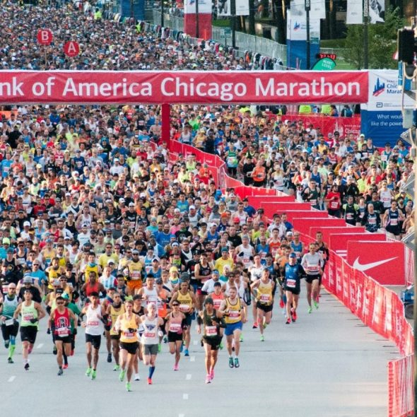 Chiquita Goes Bananas at 43rd Annual Bank of America Chicago Marathon